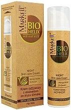 Parfums et Produits cosmétiques Crème de nuit à l'extrait de bave d'escargot - Markell Cosmetics Bio-Helix Night Cream