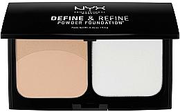 Parfums et Produits cosmétiques Fond de teint en poudre - NYX Professional Makeup Define Refine Powder Foundation