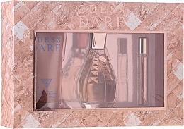 Parfums et Produits cosmétiques Guess Dare - Coffret (eau de toilette/100ml + lotion corporelle/200ml + eau de toilette/15ml)