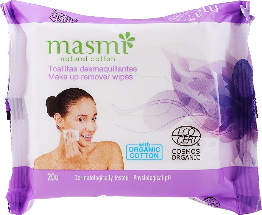 Lingettes démaquillantes - Masmi Natural Cotton