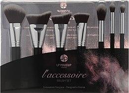 Parfums et Produits cosmétiques LP Makeup L'accessoire Brush Set - Set de pinceaux de maquillage, 7 pcs + trousse