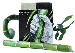 Parfums et Produits cosmétiques Savon détoxifiant naturel à l'huile de genévrier et au charbon - Uoga Uoga Bravo! Natural Detoxifying Soap