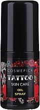 Parfums et Produits cosmétiques Huile de tatouage - Cosmepick Tattoo Skin Care Oil Spray