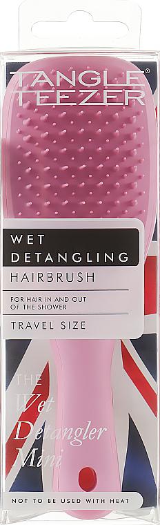 Brosse à cheveux démêlante - Tangle Teezer The Wet Detangler Mini Baby Pink Sparkle