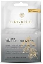 Parfums et Produits cosmétiques Masque au charbon actif et argile blanche pour visage - Organic Lab Refreshing And Detoxifying Mask