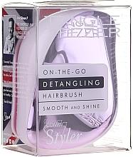 Parfums et Produits cosmétiques Brosse démêlante compacte, lilas - Tangle Teezer Compact Styler Lilac Gleam