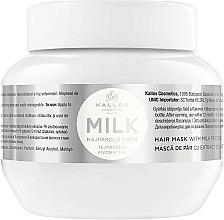 Parfums et Produits cosmétiques Masque aux protéines de lait pour cheveux - Kallos Cosmetics Hair Mask Milk Protein