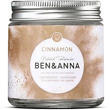 Parfums et Produits cosmétiques Poudre pour les dents canelle - Ben & Anna Toothpowder Cinnamon