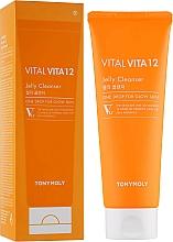 Parfums et Produits cosmétiques Gel moussant aux vitamines pour visage - Tony Moly Vital Vita 12 Jelly Cleanser