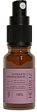 Parfums et Produits cosmétiques Spray buccal à l'huile de CBD 10%, Cassis - Herbliz CBD Oil Mouth Spray 10%