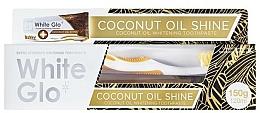 Parfums et Produits cosmétiques White Glo Coconut Oil Shine - Set (dentifrice/120ml + brosse à dents)