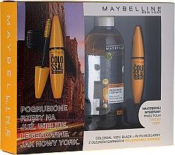 Parfums et Produits cosmétiques Kit maquillage - Maybelline (mascara/10.7ml + eau micellaire/400ml)