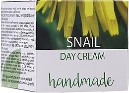 Parfums et Produits cosmétiques Crème de jour à l'extrait de bave d'escargot - Hristina Cosmetics Handmade Snail Day Cream