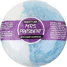 Parfums et Produits cosmétiques Bombe de bain effervescente à l'huile d'amande douce - Beauty Jar MRS. President