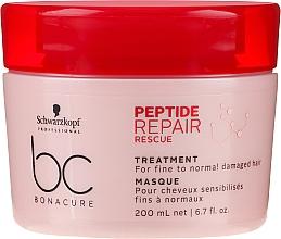 Parfums et Produits cosmétiques Masque aux peptides pour cheveux - Schwarzkopf Professional BC Bonacure Peptide Repair Rescue Treatment Mask