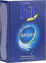Parfums et Produits cosmétiques Savon à l'extrait de ginkgo - Fa Energizing Sport Bar Soap
