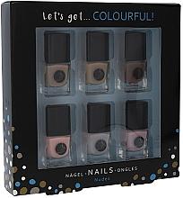Parfums et Produits cosmétiques Set vernis à ongles - Cosmetic 2K Let'S Get Colourful! Nudes Nail Polish (vernis à ongles/6x5ml)