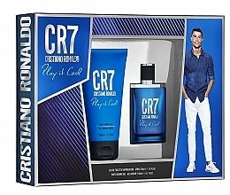 Parfums et Produits cosmétiques Cristiano Ronaldo CR7 Play It Cool - Set (eau de toilette/30ml + gel douche/150ml)