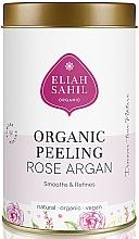 Parfums et Produits cosmétiques Gommage bio à l'argan pour corps - Eliah Sahil Organic Peeling Rose Argan