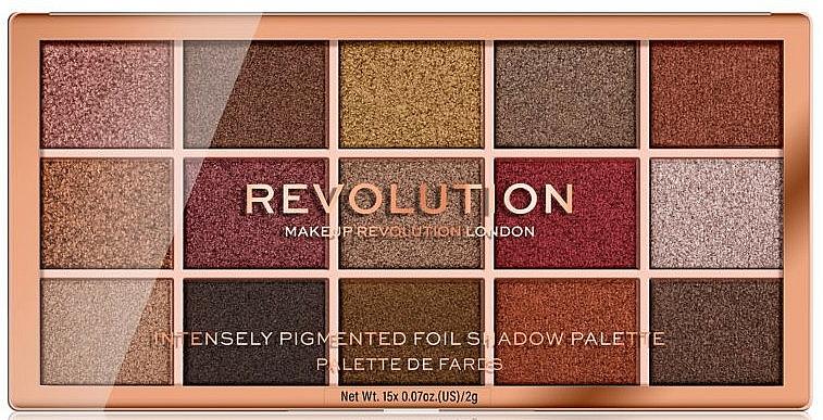 Palette d'ombres à paupières - Makeup Revolution Foil Frenzy Eye Shadow Palette