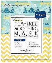 Parfums et Produits cosmétiques Masque apaisant à l'extrait d'arbre à thé pour visage - Huangjisoo Tea-Tree Soothing Mask
