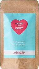 Parfums et Produits cosmétiques Gommage corporel au café 100% naturel parfumé à la noix de coco - Love Your Body Peeling