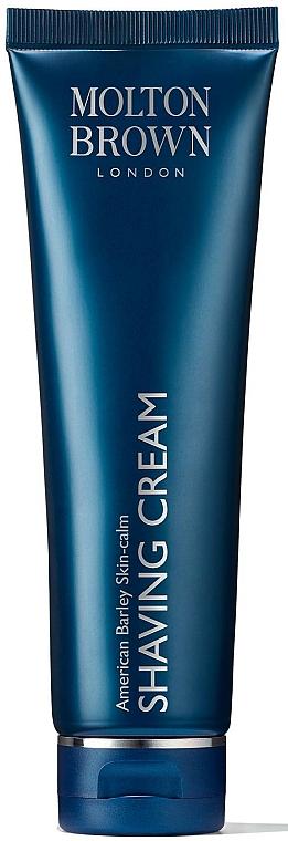 Crème à raser - Molton Brown American Barley Skin-Calm Shaving Cream — Photo N1