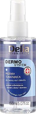 Brume tonifiante pour visage, cou et décolleté - Delia Dermo System