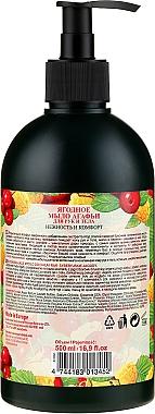 Savon liquide aux fruits de Sibérie pour corps et mains - Les recettes de babouchka Agafia — Photo N2