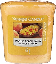 Parfums et Produits cosmétiques Bougie parfumée votive Mangue et pêche - Yankee Candle Mango Peach Salsa