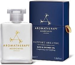 Parfums et Produits cosmétiques Huile de bain et douche à l'huile de menthe poivrée - Aromatherapy Associates Support Breathe Bath & Shower Oil