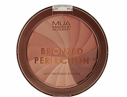 Parfums et Produits cosmétiques Poudre bronzante pour visage - MUA Bronzed Perfection Multi Bronzing Powder