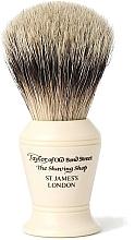 Parfums et Produits cosmétiques Blaireau de rasage, S375 - Taylor of Old Bond Street Shaving Brush Super Badger size M