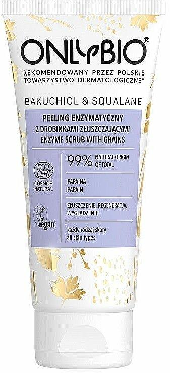 Exfoliant aux graines pour visage - Only Bio Bakuchiol & Skwalan Peeling