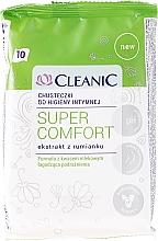 Parfums et Produits cosmétiques Lingettes d'hygiène intime à l'extrait de camomille,10 pcs - Cleanic Super Comfort Wipes