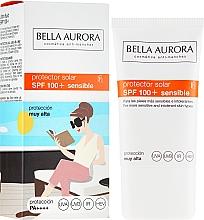 Parfums et Produits cosmétiques Crème solaire - Bella Aurora Solar Protector Sensible SPF100+