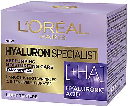 Parfums et Produits cosmétiques Crème de jour à l'acide hyaluronique, SPF20 - L'Oreal Paris Skin Expert