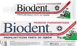 Parfums et Produits cosmétiques Dentifrice anti-parodontite - Biodent