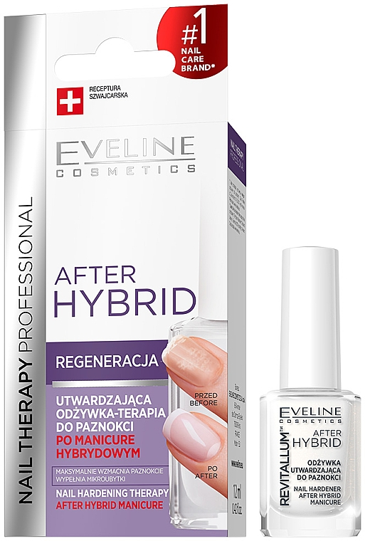 Soin fortifiant après vernis semi-permanent - Eveline Cosmetics After Hybrid Manicure
