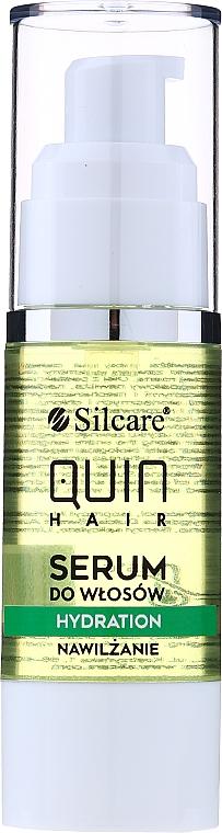 Sérum à l'huile de pépins de raisin pour cheveux - Silcare Quin Hydration Hair Serum