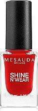 Parfums et Produits cosmétiques Vernis à ongles - Mesauda Milano Shine N`Wear Nail Polish