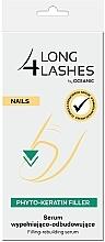 Parfums et Produits cosmétiques Sérum ongles remplissant et recontruisant - Long4Lashes Nails Phyto Keratin