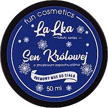 Parfums et Produits cosmétiques Mousse crémeuse à l'huile d'amandier et arôme de musc pour corps - Lalka Queen's Dream