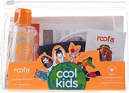 Parfums et Produits cosmétiques Roofa Cool Kids - Set (gel antibactérien/100ml + gel-shampooing/3g + masque sanitaire/1pc.)