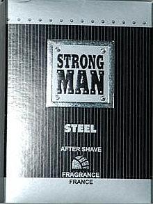 Lotion après-rasage - Strong Men After Shave Steel