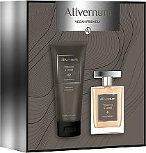 Parfums et Produits cosmétiques Allvernum Tobacco & Amber - Set (eau de parfum/100ml + gel douche/200ml)