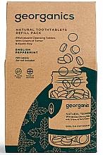 Parfums et Produits cosmétiques Comprimés de nettoyage des dents, Menthe anglaise (recharge) - Georganics Natural Toothtablets English Peppermint