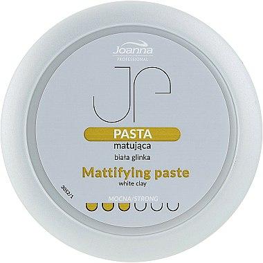 Pâte coiffante à l'argile blanche fixation forte - Joanna Professiona Mattifying Paste