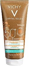 Parfums et Produits cosmétiques Lait Solaire à l'eau volcanique et acide hyaluronique, SPF 50+ - Vichy Capital Soleil Solar Eco-Designed Milk SPF 50+