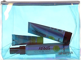 Parfums et Produits cosmétiques Alcina Hyaluron Set Limited Edition - Set soin cheveux (shampooing/100ml + après-shampooing/20ml + spray/100ml + trousse)